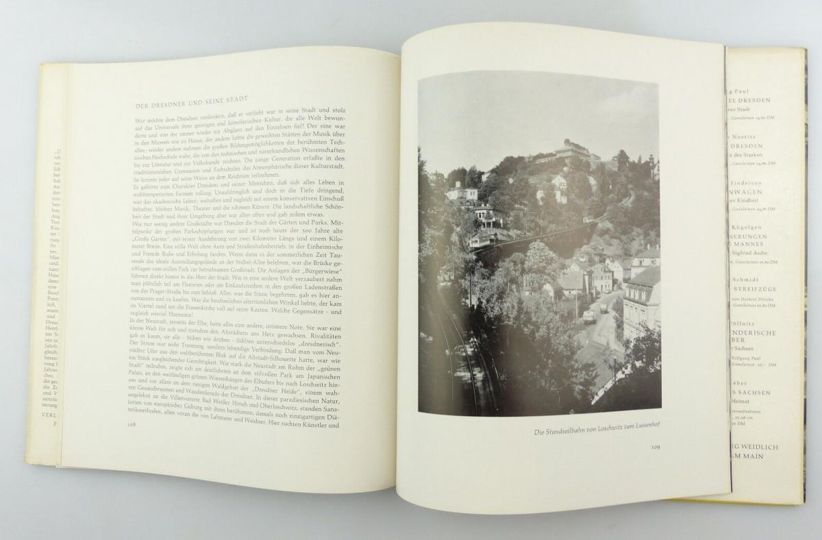 #e8654 Buch Dresden - Vision & Erinnerung mit 90 Abbildungen von 1965 7