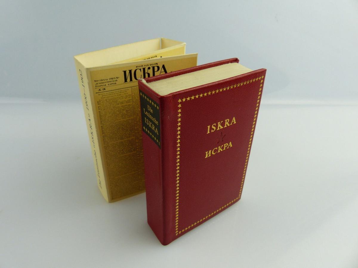 Minibuch: Iskra Die leninsche Iskra Verlag Kniga Moskau e019 0