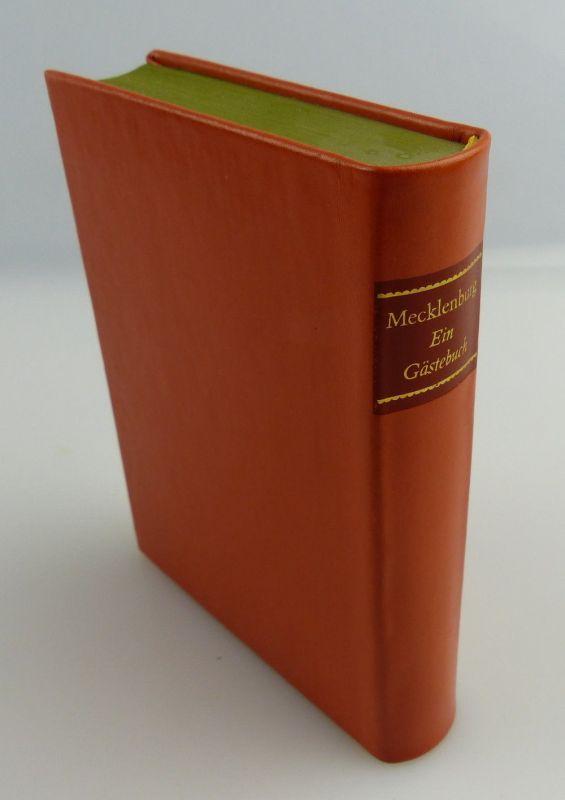 Minibuch: Mecklenburg - ein Gästebuch VEB Hinstorff Verlag e016 1