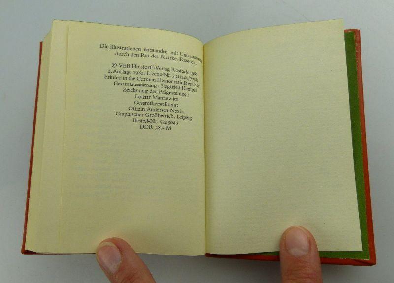Minibuch: Mecklenburg - ein Gästebuch VEB Hinstorff Verlag e016 4