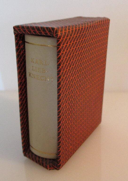 Minibuch: Karl Liebknecht Briefe aus dem Zuchthaus bu0146 1