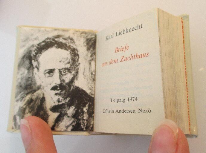 Minibuch: Karl Liebknecht Briefe aus dem Zuchthaus bu0146 2