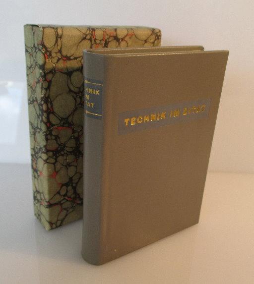 Minibuch: Technik im Zitat Peter Hoßfeld und Michael Strich bu0145 0