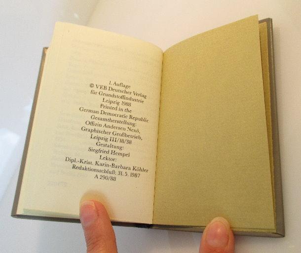 Minibuch: Technik im Zitat Peter Hoßfeld und Michael Strich bu0145 5
