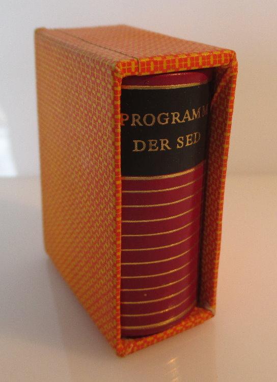 Minibuch: Programm der sozialistischen Einheitspartei Deutschlands bu0143 1