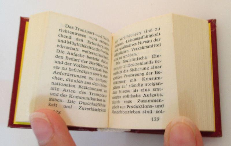 Minibuch: Programm der sozialistischen Einheitspartei Deutschlands bu0143 2