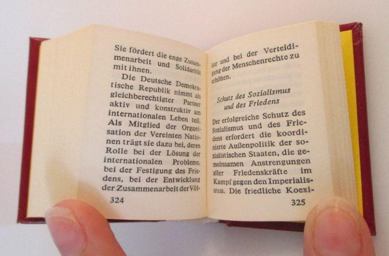 Minibuch: Programm der sozialistischen Einheitspartei Deutschlands bu0143 4