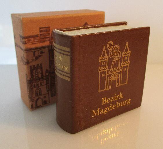 Minibuch: Bezirk Magdeburg Verlag Zeit im Bild Dresden 1984 bu0142 0