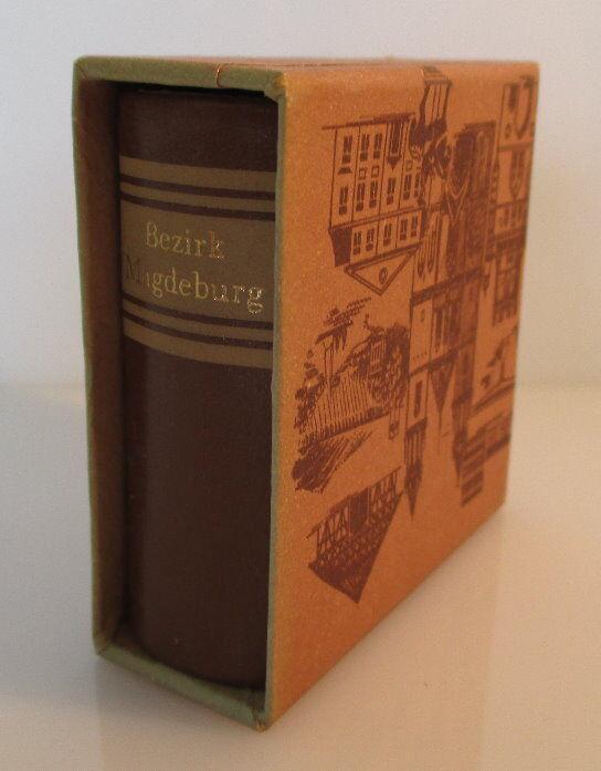 Minibuch: Bezirk Magdeburg Verlag Zeit im Bild Dresden 1984 bu0142 1