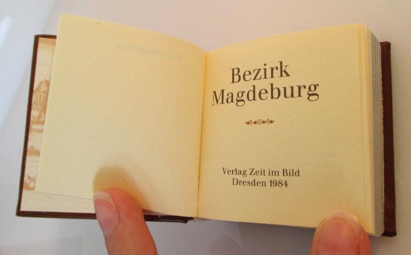 Minibuch: Bezirk Magdeburg Verlag Zeit im Bild Dresden 1984 bu0142 2