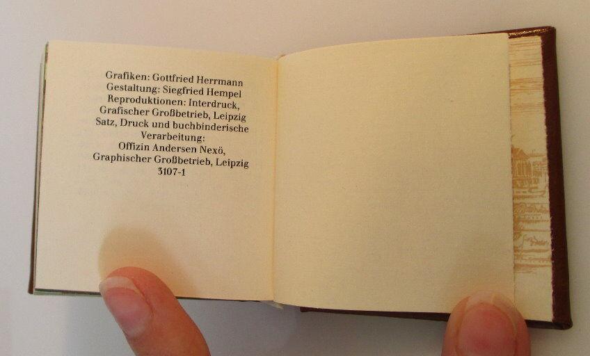 Minibuch: Bezirk Magdeburg Verlag Zeit im Bild Dresden 1984 bu0142 5
