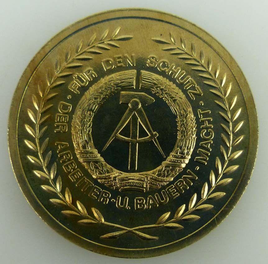 Medaille Kampfposition 80 mit den Waffenbrüdern vereint stets Wachsam und gefech 2