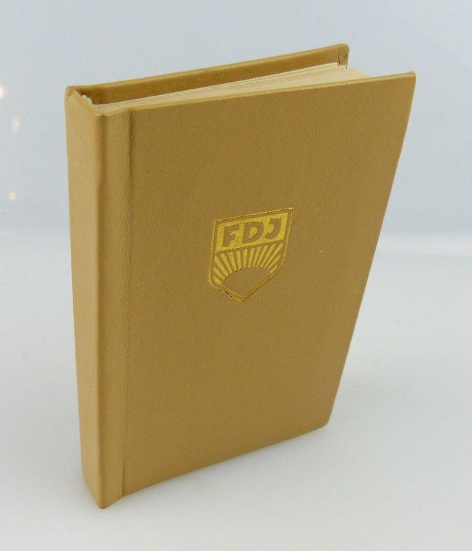 Minibuch: DDR ein Staat des Friedens und des Sozialismus  FDJ e255 0