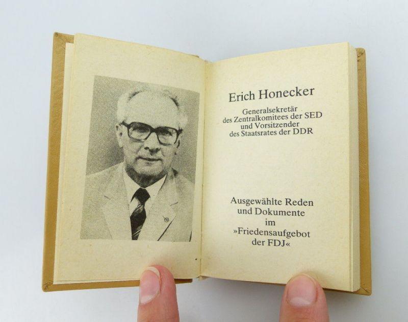Minibuch: DDR ein Staat des Friedens und des Sozialismus  FDJ e255 3