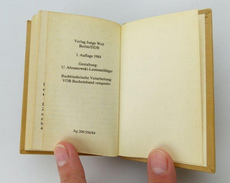 Minibuch: DDR ein Staat des Friedens und des Sozialismus  FDJ e255 5