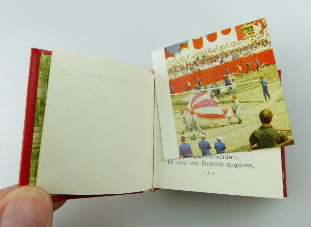 Minibuch: Bekenntnis und Tat Leipzig 1979 Offizin Andersen Nexö e253 3
