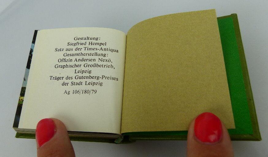 Minibuch: Die Volkspolizei Offizin Andersen Nexö Leipzig mit Signatur bu0299 5