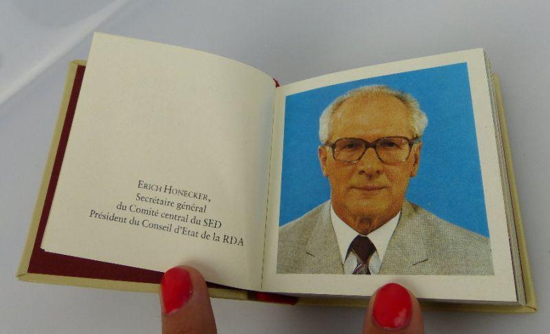 Minibuch: Deutsche demokratische Republik auf französischer Sprache bu0297 3
