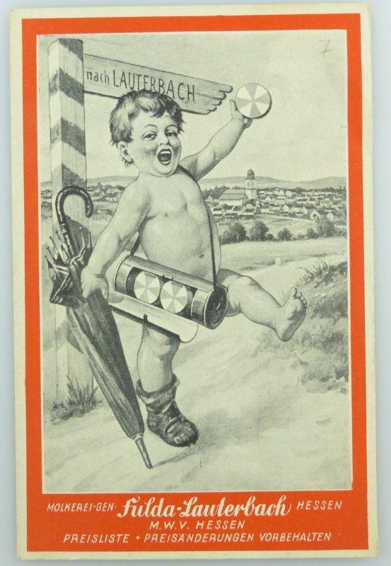 Original alte Preisliste  Fulda Lauterbach Hessen e942 0