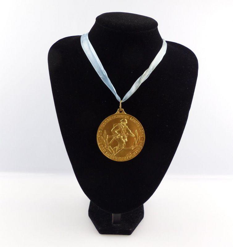 #e4162 DDR Medaille Bestenermittlung der Zollverwaltung der DDR 0