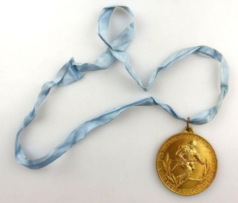 #e4162 DDR Medaille Bestenermittlung der Zollverwaltung der DDR 2