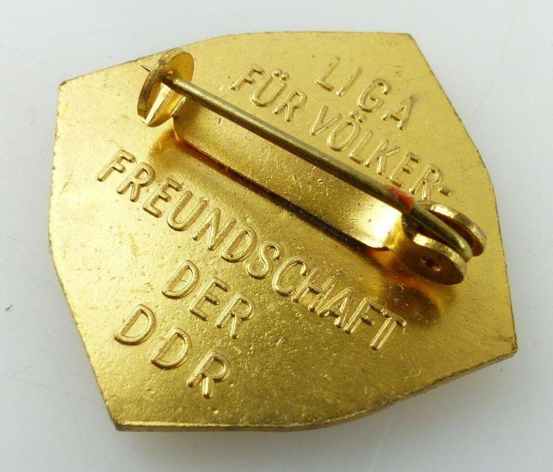 Abzeichen: LIGA für Völkerfreundschaft der DDR Für Verdienste um die, Orden3231 3
