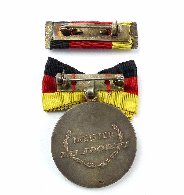 #e7783 Meister des Sports DDR Medaille 1971-72 Silber 900 vgl. Band I Nr. 72 c 2