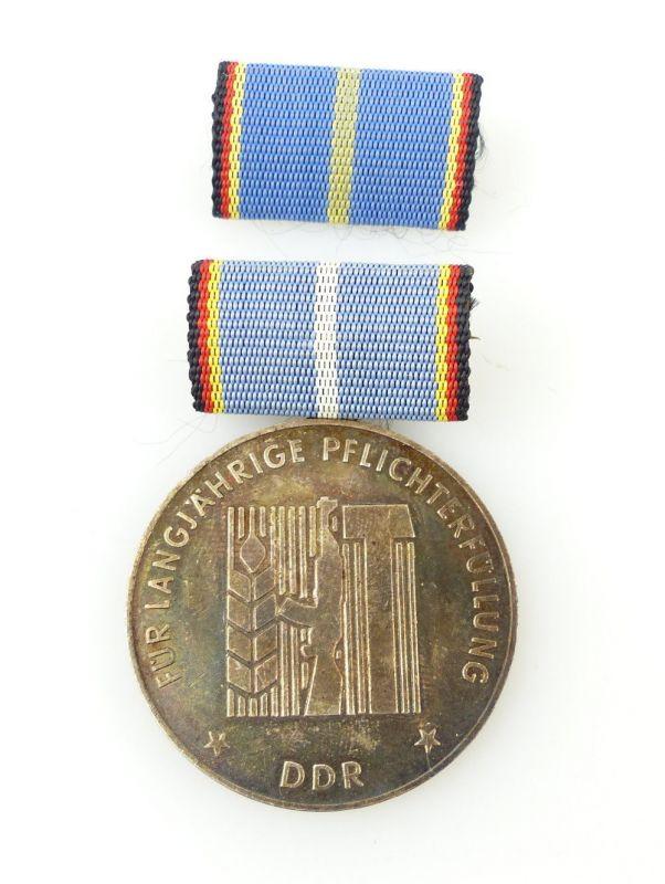 #e2459 Medaille für langjährige Pflicherfüllung, Landesverteidigung DDR 0