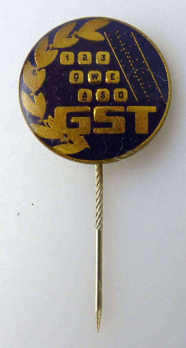 GST641 Fernschreibeabzeichen GST RSV Mitgliedsabzeichen vgl. Band VII Nr. 641