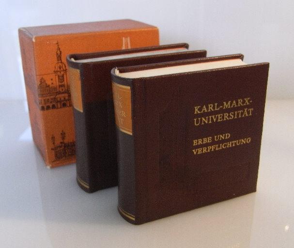 Minibuch: Karl-Marx-Universität Erbe und Verpflichtung bu0066