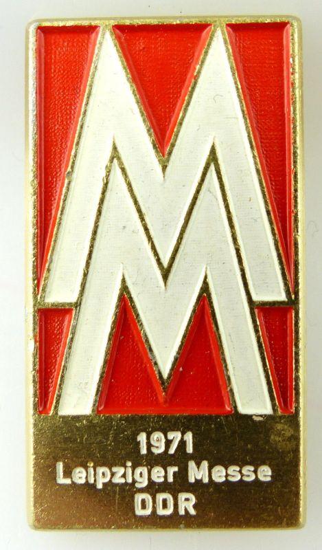 Abzeichen: Leipziger Messe 1971 DDR MM e1119