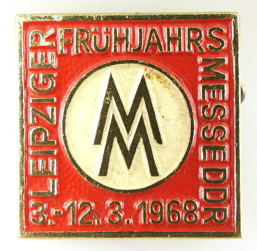 Abzeichen: MM Leipziger Frühjahrs-Messe DDR 3.-12.3.1968 e1115