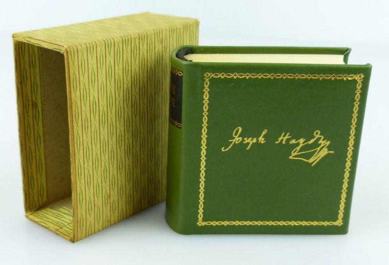 Minibuch : Biographische Notizen über Joseph Haydn, Graphischer Großb.1984 /r159