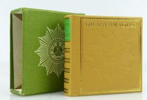 Minibuch : Dienst am Volke, Graphischer Großbetrieb Leipzig 1982 /r154