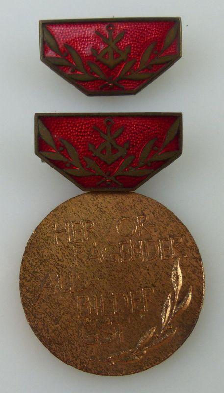 GST Medaille Hervorragender Ausbilder GST Bronze vgl. Band VII Nr. 14b, GST14b