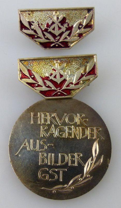 GST Medaille Hervorragender Ausbilder GST Silber vgl. Band VII Nr. 13d, GST13d