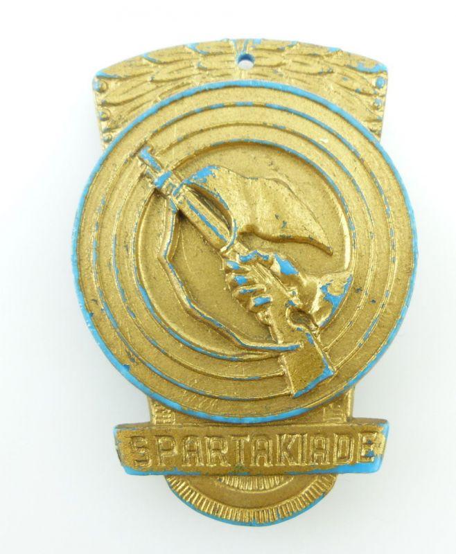 #e2357 DDR Abzeichen Kampfgruppen 1966 Spartakiade