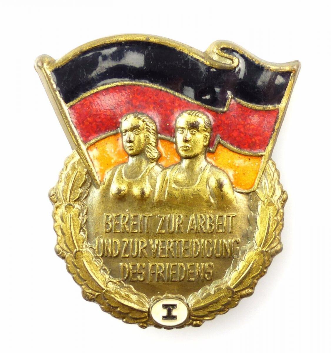 #e5360 Sportabzeichen für Erwachsene vgl. Band VI Nr. 1923 d Stufe I 1951