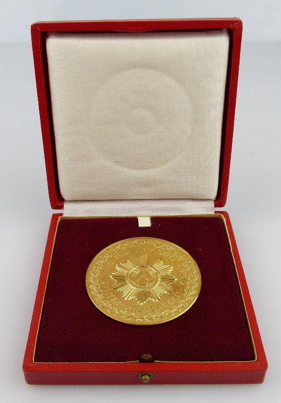 Medaille: Volkspolizei VP, Von der Partei geführt Der Arbeiterklasse , Orden2228