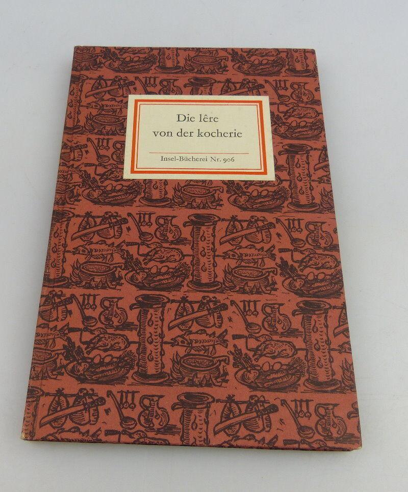 Insel Bücherei: Inselbuch Nr. 906 Die lere von der kocherie bu0515