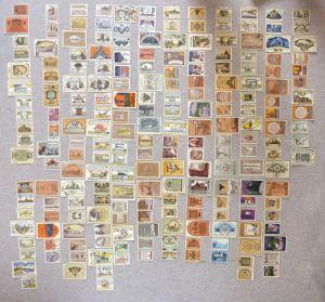Verschiedene Serien Reutergeld: Mecklenburg 213 Scheine in guter Erhaltung e1015