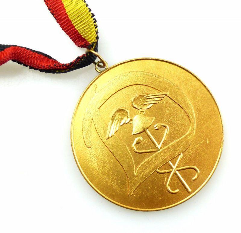 #e5803 DDR Medaille Berlin 1958 I. Zentrales Sportfest des AZKW Zoll / Dynamo 1