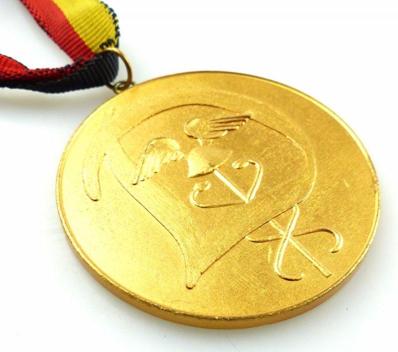 #e5803 DDR Medaille Berlin 1958 I. Zentrales Sportfest des AZKW Zoll / Dynamo 2