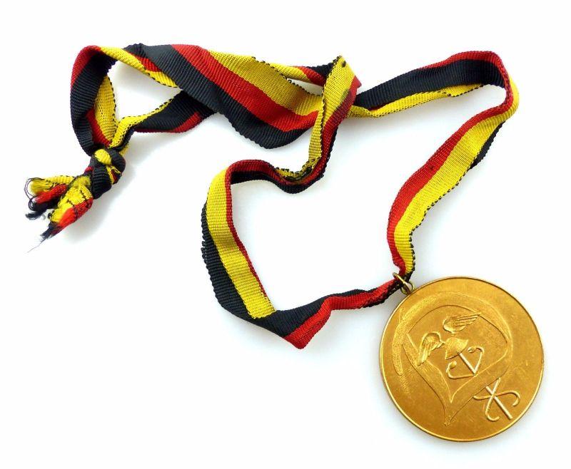 #e5803 DDR Medaille Berlin 1958 I. Zentrales Sportfest des AZKW Zoll / Dynamo 3