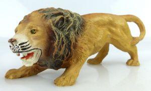 Altes Masse wohl Elastolin Tier: ausdrucksvoller Löwe