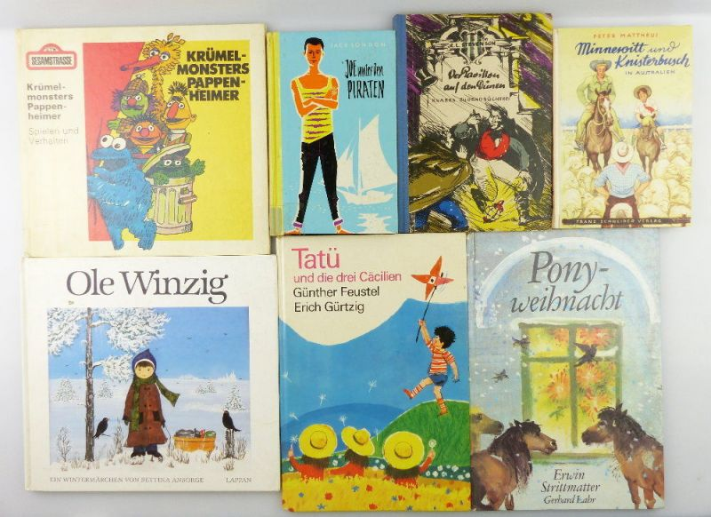 7 Kinderbücher /Jugendbücher: Joe unter den Piraten...e998