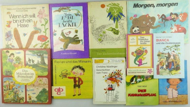 11 Kinderbücher /Jugendbücher: Der Kanuausflug, Der wasserdichte Willibald..e997