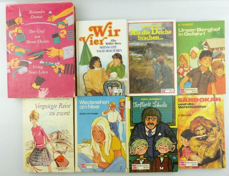8 Kinderbücher /Jugendbücher: Verflixte Schule, Wiedersehen am Meer...e996
