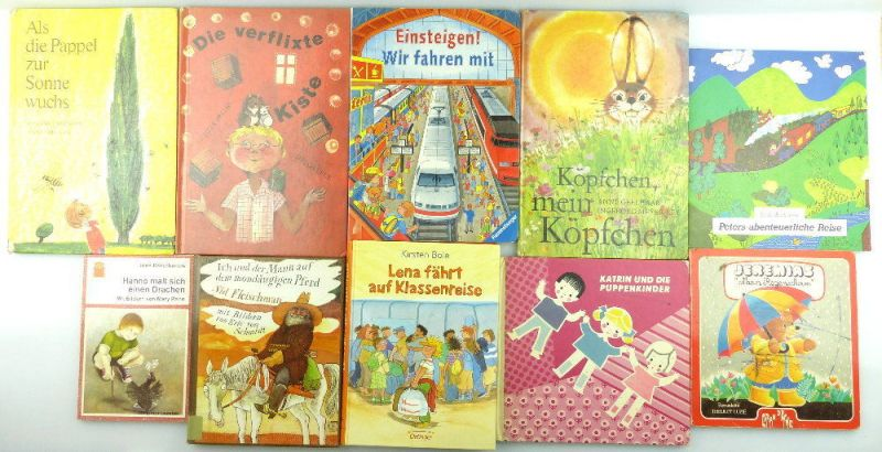 9 Kinderbücher /Jugendbücher: Ich und der Mann auf dem mondäugigen Pferd e991
