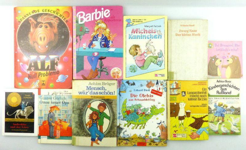 11 Kinderbücher /Jugendbücher: Alf Spannende Geschichten, Zwerg Nase... e990